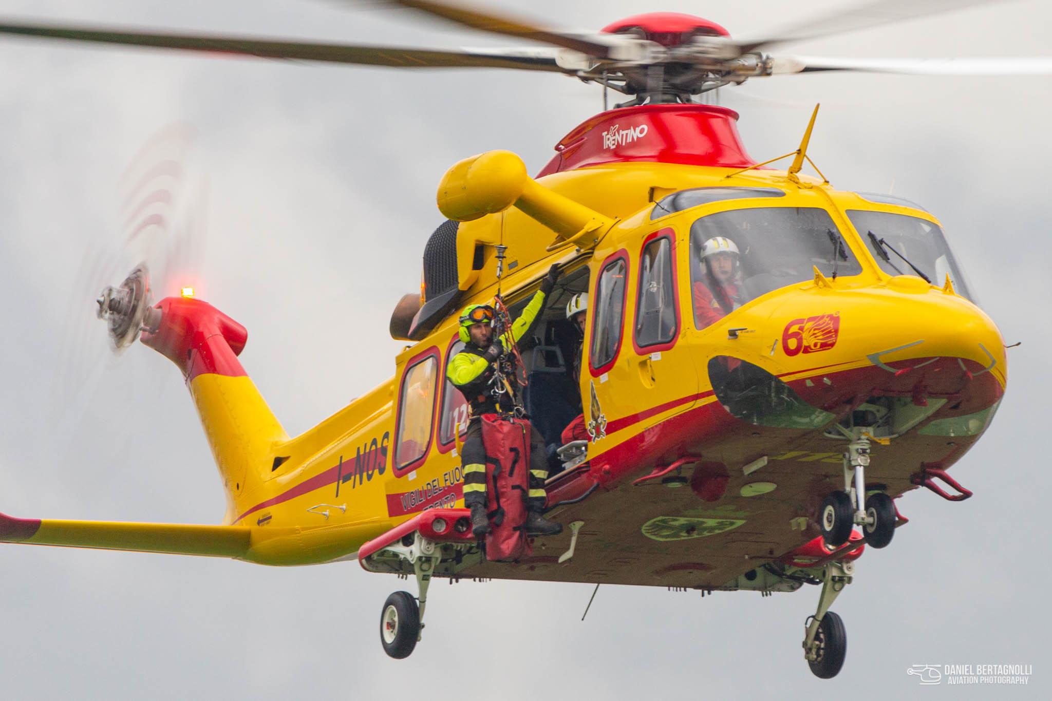 Open day protezione civile al Nucleo Elicotteri